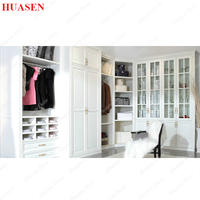 PVC coated single wardrobe door laminate design