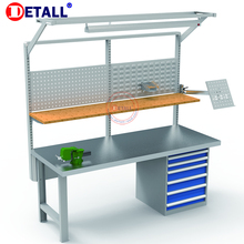 Detall- Top quality stainless steel lab work benches