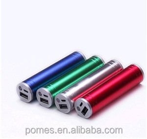2014 new Low Price Tube Aluminium 2600mah power bank external battery for mobile phone,tablet PC