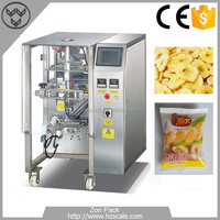 Automatic High Efficient Auto Banana Chips Vertical Form Fill Seal Packing Machine