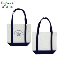 Custom Print Organic Canvas Shopping Bag Promotion Bag Cotton Tote Bag