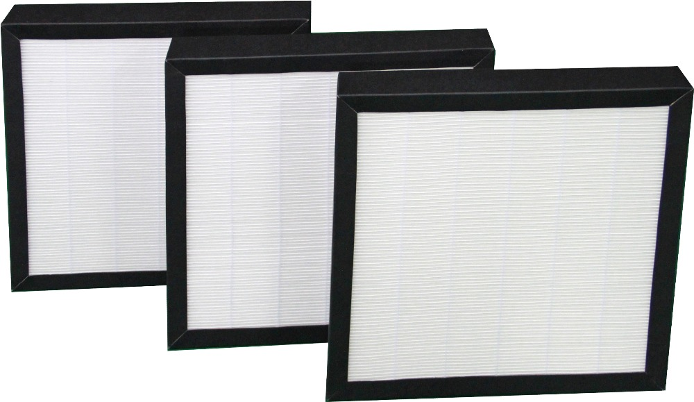 cells microfiber glass Mini Pleat hepa Filter