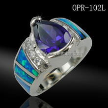 Latest chinese product 925 sterling silver ocean opal jewelry