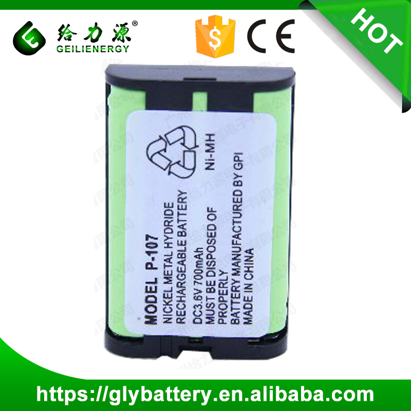 Rechargeable battery 3.6V AAA 700mAh nimh battery pack for cordless phone, RC car