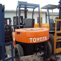 Used Toyota forklift 7ton FD70,Japan origin, second hand Toyota forklift parts 7ton,old diesel forklift 7 ton price/for sale