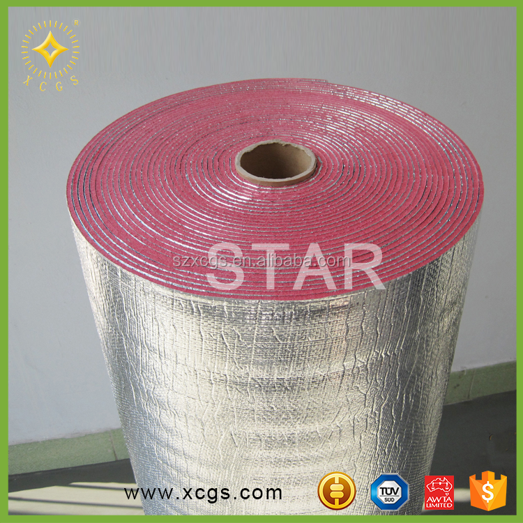 Roof heat insulation materials/ acoustic foam insulation/ Aluminum foil Wall construction building material