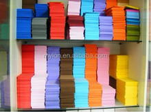 colorful EVA thin foam sheets for embroidery