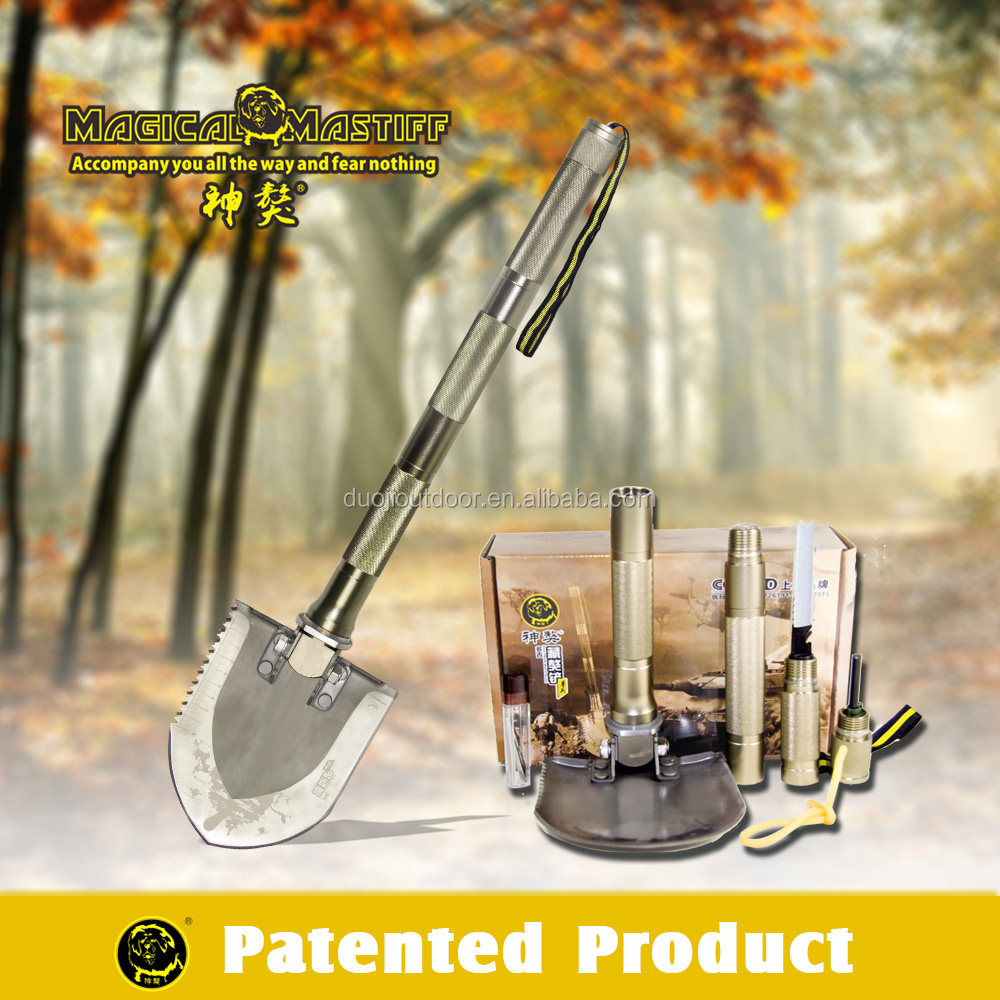 Great Essential Camping Gear/Compact Camping Tool/Multifunction Shovel