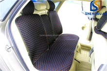 Black color polyester car seat cover cushion