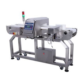 New technology automatic learning parameters metal detector machine for frozen foods