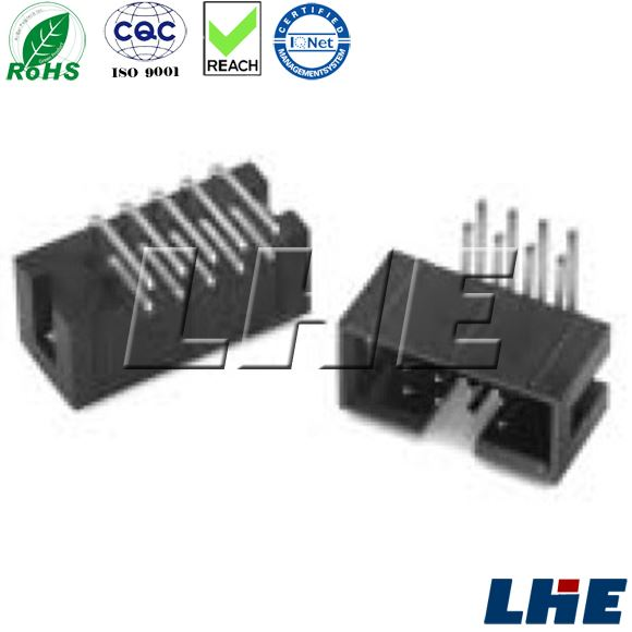 IDC connector R.ANGLE IDC BOX HEADER 20P wire connector