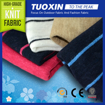 100% Linen Knit Fabric for cloth