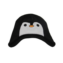 Popular penguin animal hat cartoon cap polar fleece cap funny crazy winter hats