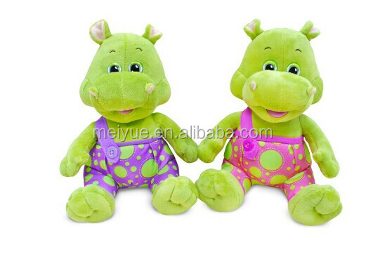 High Quality Winking Baby Hippo Stuffed Toys