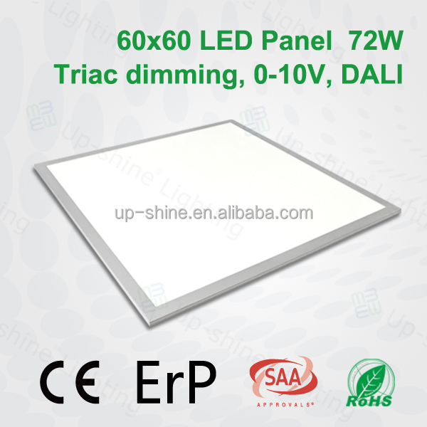 5years warranty high effiency 5200lm easy installation CE SAA certificate suspend ceiling light 72W smd 6060 led panel