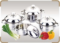 New Arriving Hot Selling Korean Kitchenware 555 Stainless Steel Cookware Sets