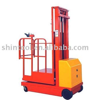 3.3meters Electric order picker/aerial order picker truck