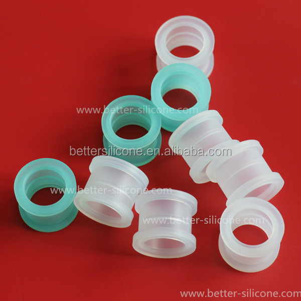 Medical Silicone Rubber Sleeve Bushing for Mask Tubing Connector