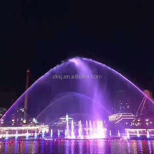 China 50 meters high digital numerical artificial fire musical water fountain