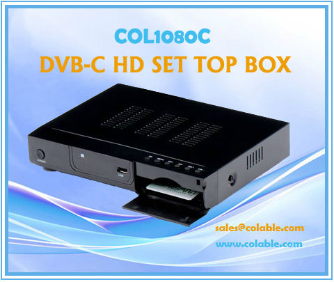 COL1080C mpeg4 hd digital tv decoder,hdmi cable tv set top box, hd set top box digital tv dvb-c