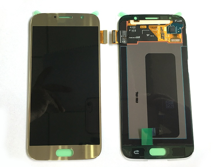 Hot sale mobile phone repair parts LCD replacement for Samsung S6