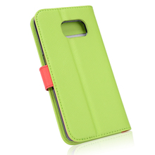 high quality shockproof stand leather flip case cover for samsung galaxy core 2