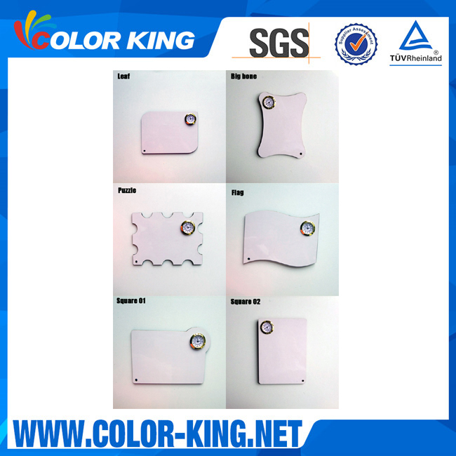 Colorking DIY sublimation blank MDF mini projects in digital clock