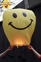 Sale birthday party blowers sky lantern safety paper star lanterns cheap