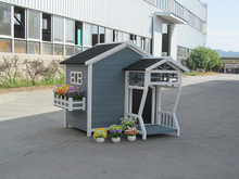 Wooden dog house certral coast pet house wholeasle pet house manufacture china
