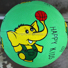 Excellent quality Best-Selling rubber bladder basketball