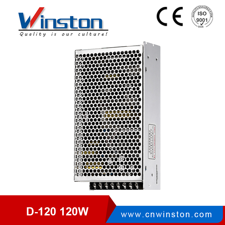 Winston <strong>D</strong>-120F 120W 12V 24V LED Light Power Converter With 2 Years Warranty