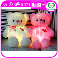 HI toy bear , bear toy, light up teddy bear plush toy
