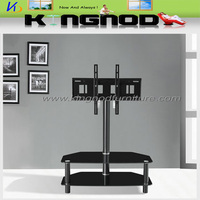black painted glass black painted metal tubes lcd tv table tv hall cabinet living room furniture designs