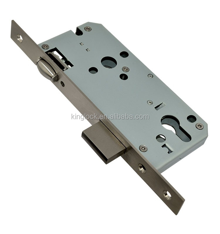 CE/ISO9001 Mortise Lock with Roller Bolt 85R with surface color finish AB//SSS/SB/PB/ROSE GOLD