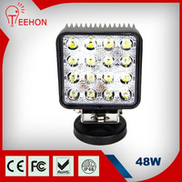 4.3Inch 12V LED Work Light Bar rechargeable led work light magnetic base 48W led truck light