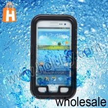 Super Plastic Waterproof Case for Samsung Galaxy S3 i9300 I9305 I9308 With Strap