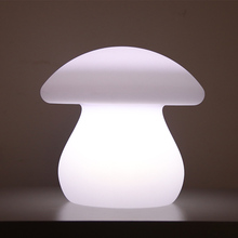 wholesale christmas remote control led baby night light mushroom light led desk lamp