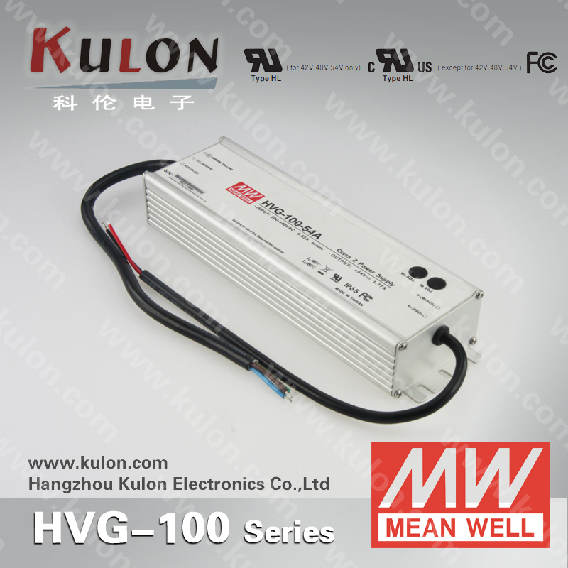 Mean Well LED Driver supply HVG-100-30 30V 100W 350ma led driver