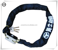 The new 2015 manganese steel bicycle chain lock