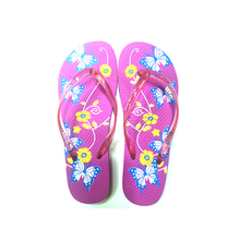 Hot Pink Summer Pool Using Anti-slip Ladies Rubber Swimming Pool Slippers For Women