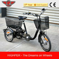 2014 Electric Tricycle, Electric 3 wheel Bicycle , tricycles (EL08)