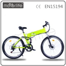 MOTORLIFE/OEM elecctric mountain bike/pegasus electric bicycle bike