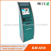 Self-service Interactive A4 kiosk with laser printer