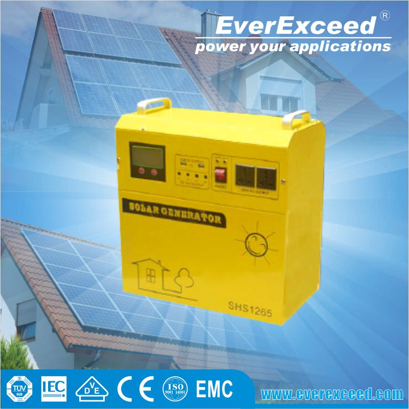 2016 EverExceed Hot selling 20w 50w 100w 1kw solar panel system ,off grid solar energy home lighting power system price