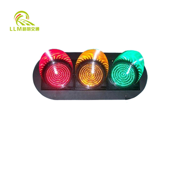 "8"" clear lens wide voltage trafic signal"
