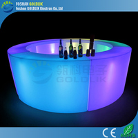 LED salon color bar counter for events