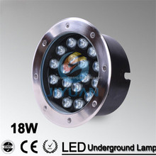 Factory direct sale 15W COB LED underground light IP68 Buried recessed floor outdoor lamp DC 24V OR AC110/220V