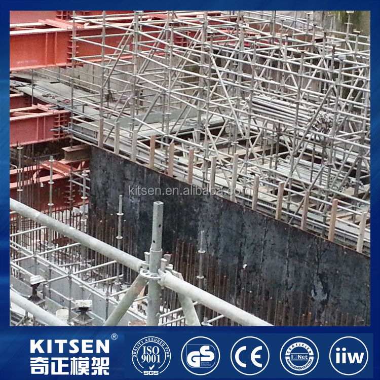 Kitsen New Type of Support System Steel Ringlock Scaffold
