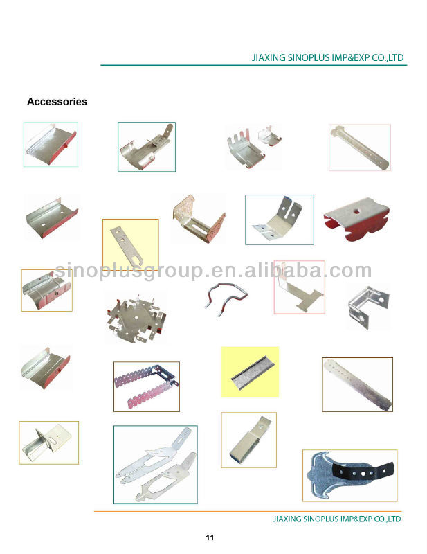 Drywall profile accessory metal profiles accessory,U-bridge (U clamp)