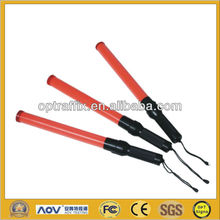 Light and Resistant high visibility LED Traffic Wand with red color WD-01R